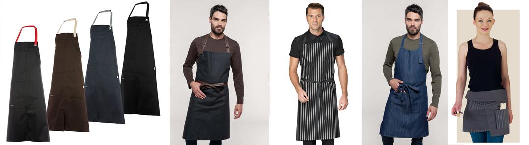 tabliers de cuisine et de service